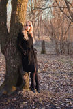 Mujer joven rubia foto de archivo libre de regalías
