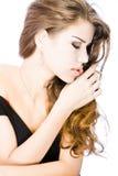 Mujer joven sensual imagen de archivo libre de regalías