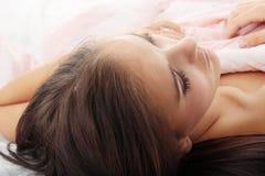 Mujer joven sensual Fotografía de archivo