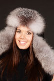 Mujer joven sonriente Fotografía de archivo libre de regalías