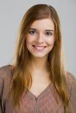 Mujer joven sonriente fotos de archivo libres de regalías