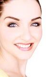 Mujer joven sonriente hermosa fotografía de archivo libre de regalías