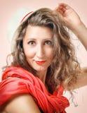 Mujer linda Foto de archivo libre de regalías