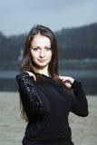 Mujer linda joven Imagen de archivo