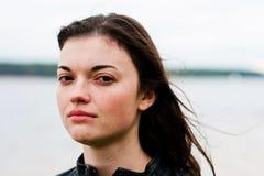 Mujer loca Fotografía de archivo libre de regalías