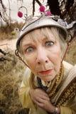 Mujer loca imagen de archivo