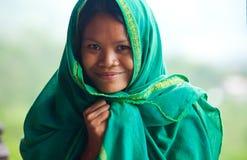 Mujer local Fotografía de archivo libre de regalías