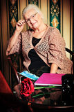 Mujer madura Foto de archivo libre de regalías