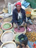 Mujer malgache fotografía de archivo