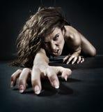 Mujer malvada Foto de archivo