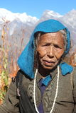 Mujer mayor Fotografía de archivo libre de regalías