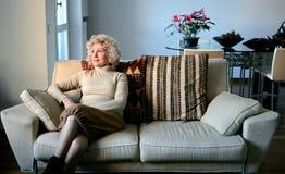 Mujer mayor 8 Imagen de archivo