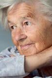 Mujer mayor adorable Fotos de archivo libres de regalías