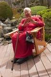 Mujer mayor del afroamericano Fotos de archivo