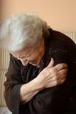 Mujer mayor encantadora Fotos de archivo