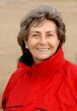 Mujer mayor feliz imagen de archivo libre de regalías