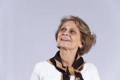 Mujer mayor hermosa fotos de archivo libres de regalías