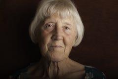 Mujer mayor hermosa fotografía de archivo libre de regalías