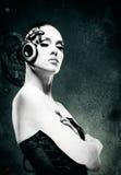 Mujer mecánica Fotografía de archivo libre de regalías