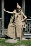Mujer medieval Imagen de archivo libre de regalías