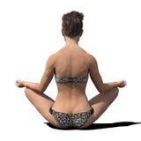 Mujer Meditating Fotos de archivo