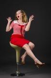 Mujer modela imagen de archivo libre de regalías