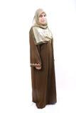Mujer musulmán Foto de archivo