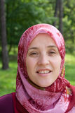 Mujer musulmán fotografía de archivo libre de regalías
