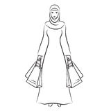Mujer musulmán Imagenes de archivo