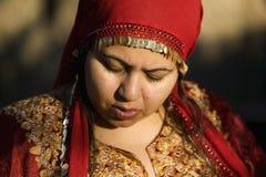 Mujer musulmán al aire libre fotografía de archivo libre de regalías