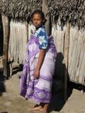 Mujer nativa malgache foto de archivo libre de regalías