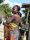 Mujer nativa malgache fotografía de archivo