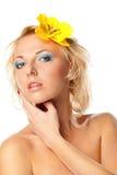 Mujer natural de la belleza Fotos de archivo libres de regalías
