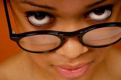 Mujer negra Fotografía de archivo