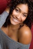 Mujer negra Foto de archivo libre de regalías