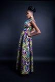 Mujer negra de moda Imagen de archivo libre de regalías