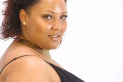 Mujer negra hermosa imagenes de archivo