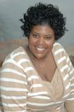 Mujer negra hermosa Imágenes de archivo libres de regalías