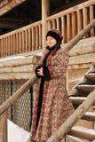 Mujer noble rusa Foto de archivo libre de regalías