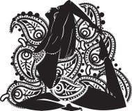 Mujer oriental ilustración del vector
