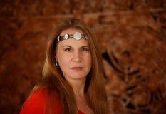 Mujer pagana Imagen de archivo