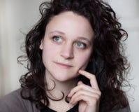 Mujer pensativa Imagen de archivo