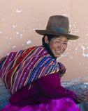 Mujer peruana Fotos de archivo