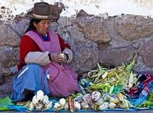 Mujer peruana Fotos de archivo libres de regalías