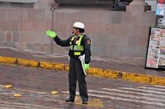 Mujer policía. Foto de archivo libre de regalías