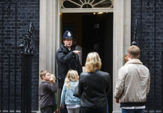Mujer policía metropolitana de servicio en Londres Fotografía de archivo