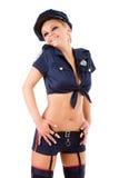 Mujer policía joven Imagen de archivo