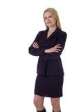 Mujer profesional confidente Foto de archivo libre de regalías