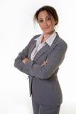 Mujer profesional confidente Imagen de archivo libre de regalías