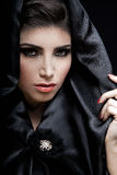 Mujer árabe magnífica Foto de archivo